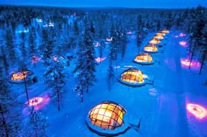 7. Kakslauttanen Igloo Village, Finland