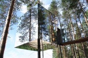 9. The Mirrorcube Tree House Hotel, Sweden