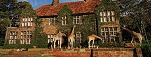 13. Giraffe Manor, Kenya